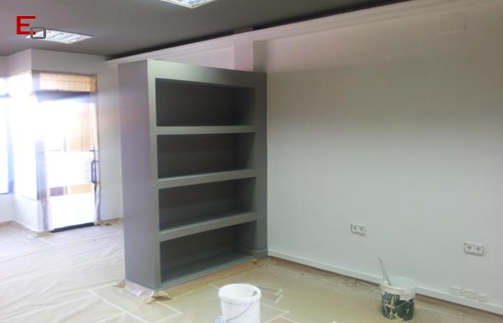 Pintura de oficina en Getafe