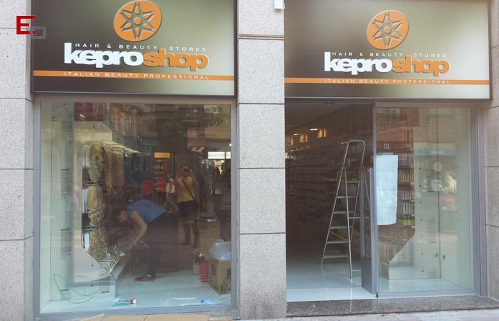 Reforma del local Kepro Shop in Getafe, Madrid